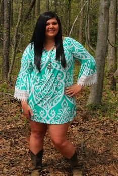 Women's Plus Size country white deer dress | Hunting Clothing and ...