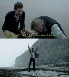 doctor who christmas list