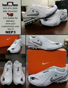037a360d6236 Custom Limited Edition Tom Brady New England Patriots Nike Reax Shoe – JNL  Apparel