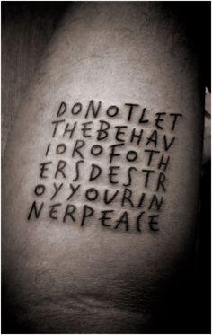 Dalai Lama...Mantra #tattoo