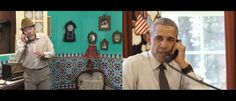 President Barack Obama mostly keeps a straight face in this comedy clip with the very popular Cuban comedian Panfilo, and, frankly, it's not hard to see why. Let's just say humor doesn&…