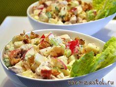 Салат с курицей  98 рецептов с фото Как приготовить