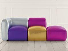 Modular convertible sofa KIVAS by VALDICHIENTI | design Karim Rashid