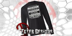 A Man Can Never Have Too Much Long Sleeve by TaterDesigns on Etsy