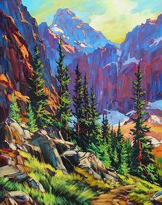 Paintings by David Langevin