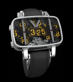 Digital time in an analog clock