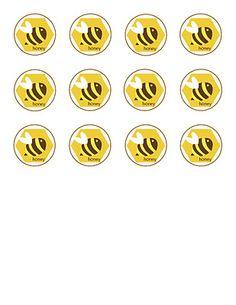 20 free bee themed printables  Bienen Druckvorlagen  links