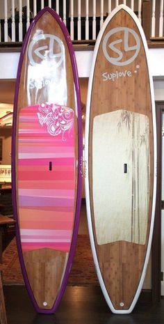 I really want the paddle board on the left!  Something us Wisconsin people can even do without the ocean!