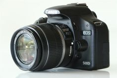 Komplett kamerautrustning med 2st objektiv: Canon 500D | 18-55mm |