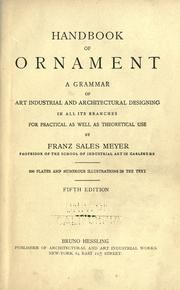 A handbook of ornament : Meyer, Franz Sales, 1849- : Free Download & Streaming : Internet Archive