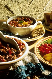 Southwest style chili!  Perfect for fall