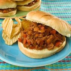 "Emily's Famous Sloppy Joes | ""This is just a good old-fashioned Sloppy Joe recipe. Just slap some on a bun and enjoy!"""