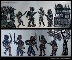Karagiozi - a character in Greek Shadow Puppetry Shadow Theatre, Puppet Theatre, Stock Character, Character Design, Monkey Illustration, Street Performance, Shadow Puppets, Islamic Art, Staging