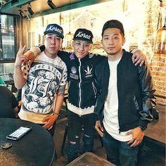 SEUNGRI #With Big Bang's 승리 & little brother Jeff. 101315