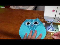 Owl Pot Holder tutorial - YouTube