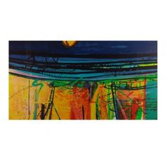 Seafence 2012 By Barbara Rae: Category: Art Currency: GBP Price: GBP1300.00 Retail Price: 1300.00 Seafence is a silkscreen limited edition…
