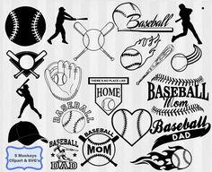 Baseball SVG Baseball clipart Baseball by AOkaySVGClipart on Etsy