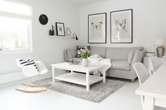 Gray and white..again.  I can't get away from you sweet color combination.