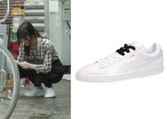 "Krystal 크리스탈 in ""She's So Lovable"" Episode 1.  Puma X Sophia Chang Basket Classic Sneakers #Kdrama #ShesSoLovable 내겐 너무 사랑스러운 그녀 #Krystal"