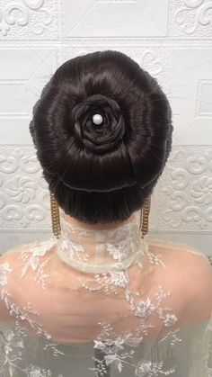 Hairdo For Long Hair, Bun Hairstyles For Long Hair, Bride Hairstyles, Headband Hairstyles, Cute Hairstyles, Hairstyle Braid, Beautiful Hairstyles, Party Hairstyles, Front Hair Styles