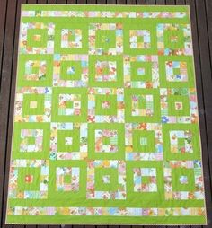 Take 1 - A Layer Cake Quilt - Pattern (PDF file) by Red Pepper Quilts