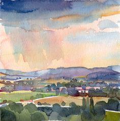 fairfield porter watercolors - Google Search