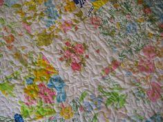 Make a Vintage Sheet Quilt!