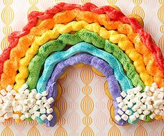 End-of-the-Rainbow Cupcakes From Better Homes and Gardens, ideas and improvement projects for your home and garden plus recipes and entertaining ideas.