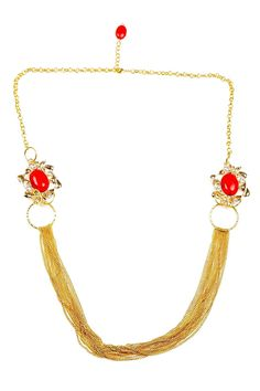 Grand Coral Necklace.