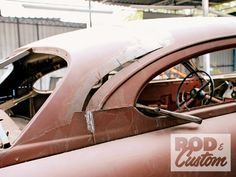 Check out Bill Hines and his 1951 Mercury as it the roof gets a custom chop the old school way inside Rod & Custom Magazine. Custom Rat Rods, Custom Cars, Auto Body Work, Custom Metal Fabrication, Metal Shaping, Mercury Cars, Panel Truck, Lead Sled, Top Cars