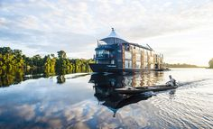 Read about the luxury Amazon River cruise ship, the Aria Amazon, launched in 2011 by Aqua Expeditions, leading adventure travel cruise vacations since 2007.