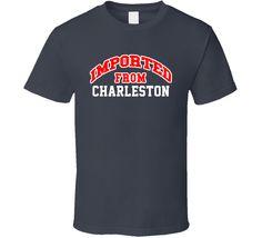 Imported From Charleston Arkansas Sports Team Trade T Shirt
