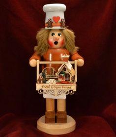 Multicolour KWO Smoking Man Figurine Dog-Fancier One Size Wood 16 cm