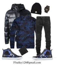 """""""Untitled #450"""" by fbailey126 ❤ liked on Polyvore featuring Moncler, Valentino, McQ by Alexander McQueen, Balmain, Givenchy, women's clothing, women's fashion, women, female and woman"""