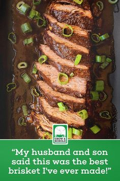 Beef Brisket Recipes, Grilling Recipes, Meat Recipes, Slow Cooker Recipes, Crockpot Recipes, Diner Recipes, Kitchen Recipes, Cooking Channel Recipes, Chicken