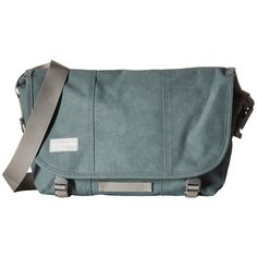 Timbuk2 Classic Messenger Bag - Small (Desert Grass) Messenger Bags ($71) ❤ liked on Polyvore featuring bags, messenger bags, timbuk2, laptop courier bag, zipper messenger bag, laptop bags and ipad messenger bag