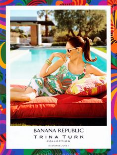 Coco Rocha – Banana Republic S/S 2012 Ads – PART 2   Fashion Scans Remastered!