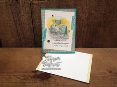 Stampin Up Mediterranean Moments stamp set from the 2017 Occasions  Catalog