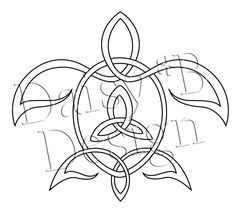 celtic turtle tattoo design maybe put the symbol for mother and child in the middle