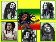 **Bob Marley** ►►More fantastic collages, pictures, music and videos of *Robert Nesta Marley* on: https://de.pinterest.com/ReggaeHeart/ https://silverpolaris.wordpress.com/2012/08/18/collage-bob-marley/