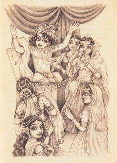 Krishna surprise