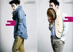 Korea Model모델 /Idol아이돌: 李秀赫 - BAZAAR MAN 2012