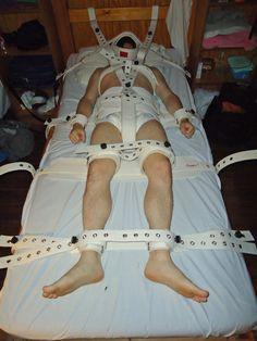 Medical restraints & diaper