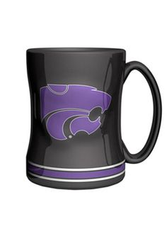 K-State Wildcats 15oz Sculpted Mug
