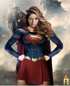 Supergirl and Superman Supergirl Superman, Superman Art, Superman Family, Supergirl And Flash, Batgirl, Superman Costumes, Superhero Cosplay, Dc Cosplay, Female Hero