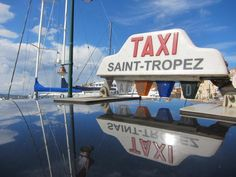 Taxi St Tropez, France...my kind of taxi! I'd like to try this :)
