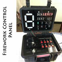 Firework control panel