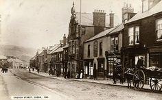 Church Street in Crook.