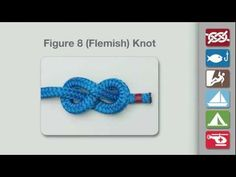 Animation shows how to tie the Double Fisherman's Knot for Climbers and Rescue Workers. From the world's knot site - Animated Knots by Grog. IPHONE APP: h. Rope Knots, Tie The Knots, Bowline Knot, Fisherman's Knot, Prusik Knot, Nudo Simple, Animated Knots, Sailing Knots, String Art