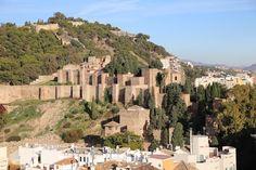 Widok z dachu Katedry w Maladze